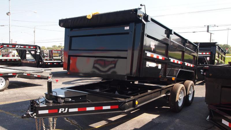 2019 PJ Trailers 14x83 Low Profile HIghside Dump Trailer