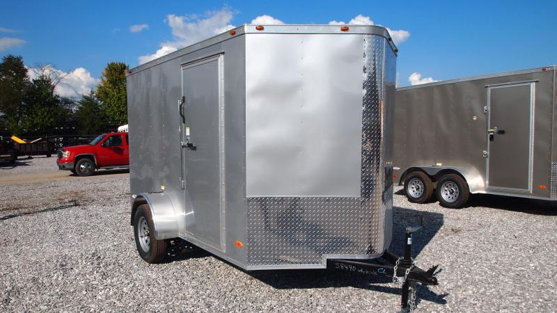 2019 Freedom Trailers 6x10 Single Axle Enclosed Cargo Trailer