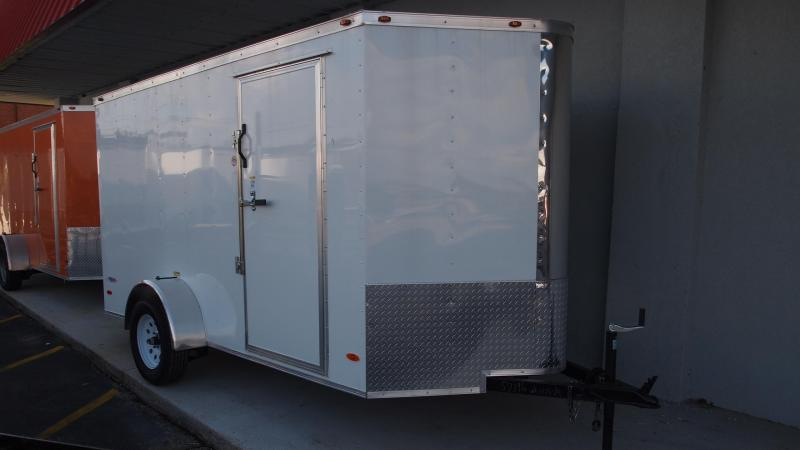 2019 Freedom Trailers 6x12 Single Axle Enclosed Cargo Trailer