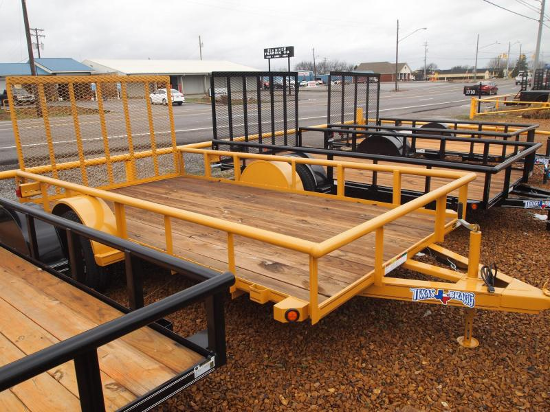 2018 Texas Bragg Pipetop Utility Trailers