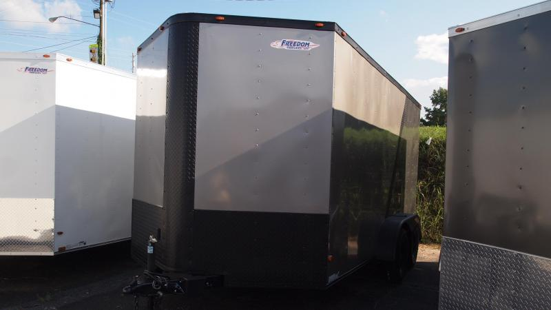 2019 Freedom Trailers 14x7 Tandem Axle Enclosed Cargo Trailer