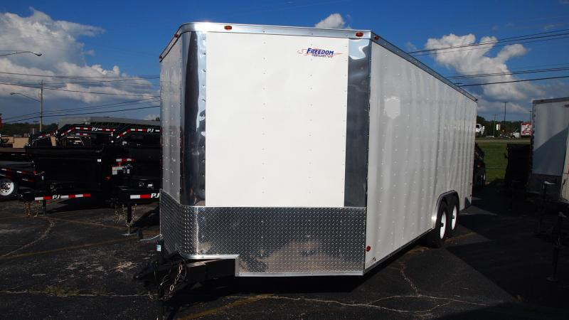 2019 Freedom Trailers 20x8.5 Tandem Axle Enclosed Cargo Trailer