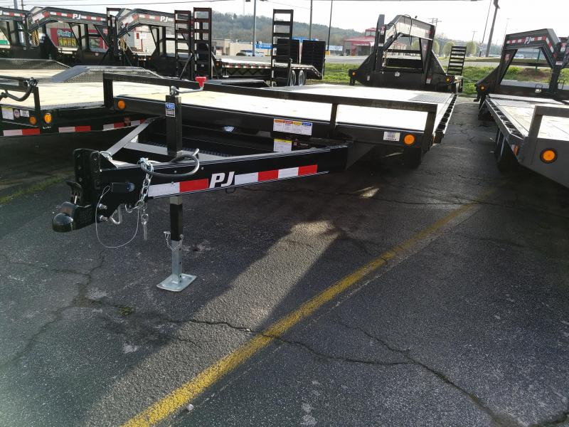 2019 PJ Trailers 20' Deckover Equipment Trailer