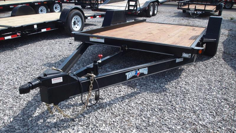 2019 Texas Bragg Trailers 12x77 HD Tilt Equipment Trailer