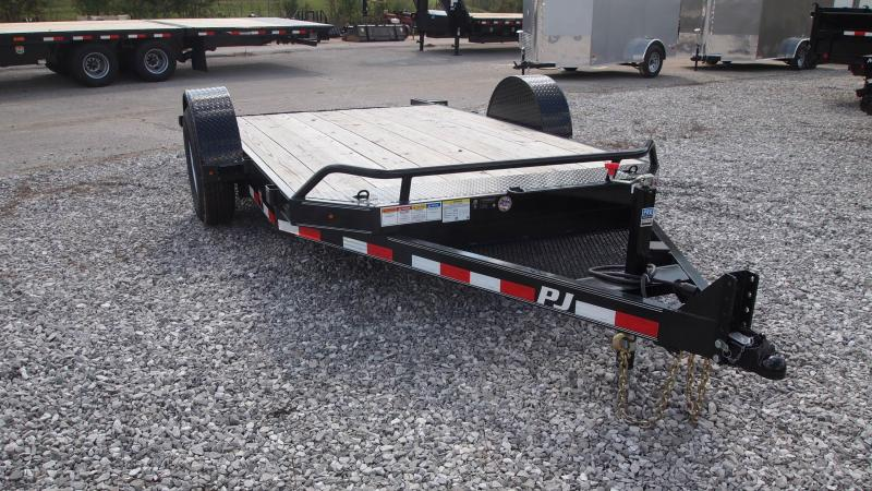 2019 PJ Trailers 13 Saingle Axle Tilt Equipment Trailer