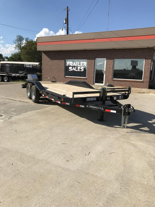 2018 Iron Bull ETB0220072 Equipment Trailer