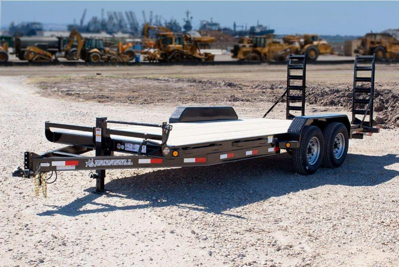 2017 Iron Eagle ETB8320072 Equipment Trailer