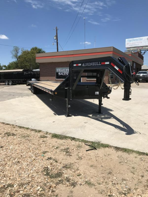 2018 Iron Bull FHG0240122 Flatbed Trailer