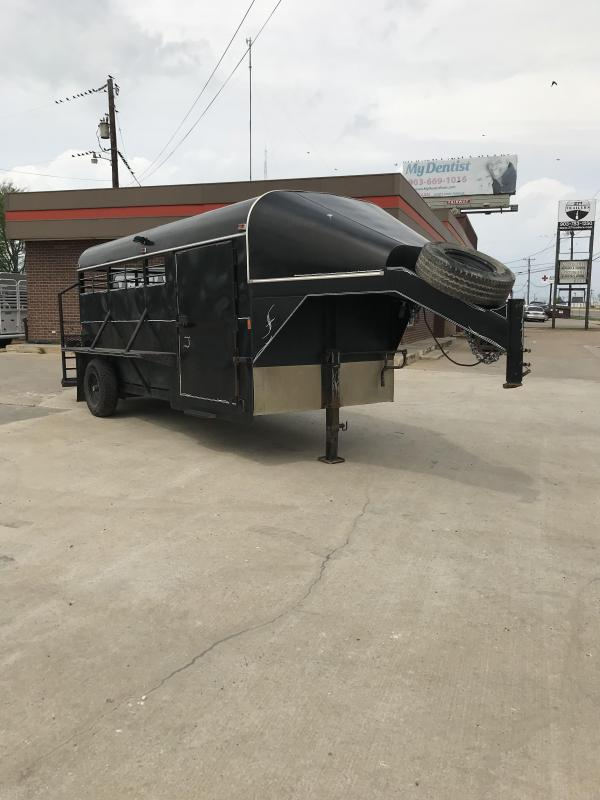 2008 Other 6X16 1- 7K AXLE Livestock Trailer