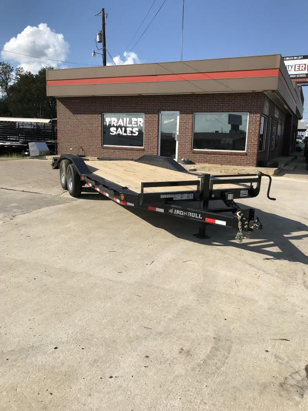 2018 Iron Bull ETB0222072 Equipment Trailer