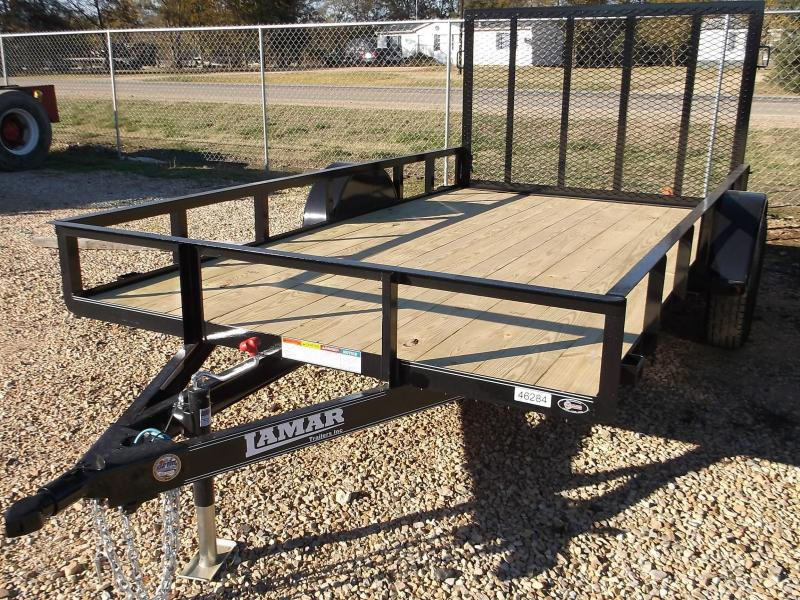 2017 Lamar Trailers 77X10 SINGLE AXLE ATV Utility Trailer