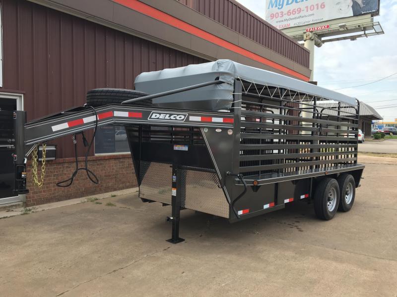 2018 Delco Trailers GB0616270 Livestock Trailer