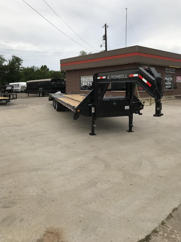 2018 Iron Bull FLG0232102 Flatbed Trailer