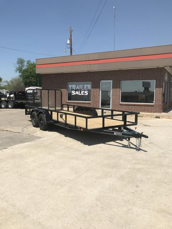 2019 X-On UT831823 Utility Trailer