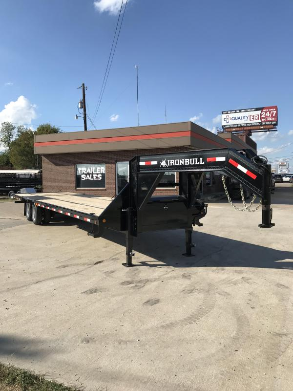 2019 Iron Bull FHG023412 Flatbed Trailer