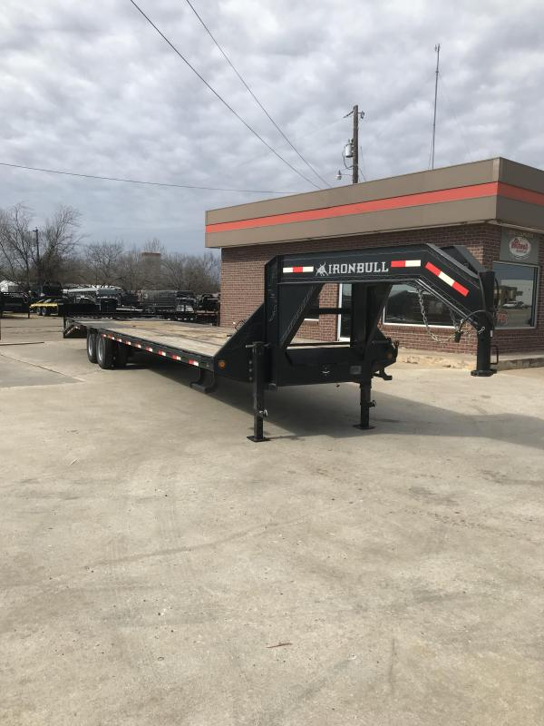 2017 Iron Bull FLG0234102 Flatbed Trailer