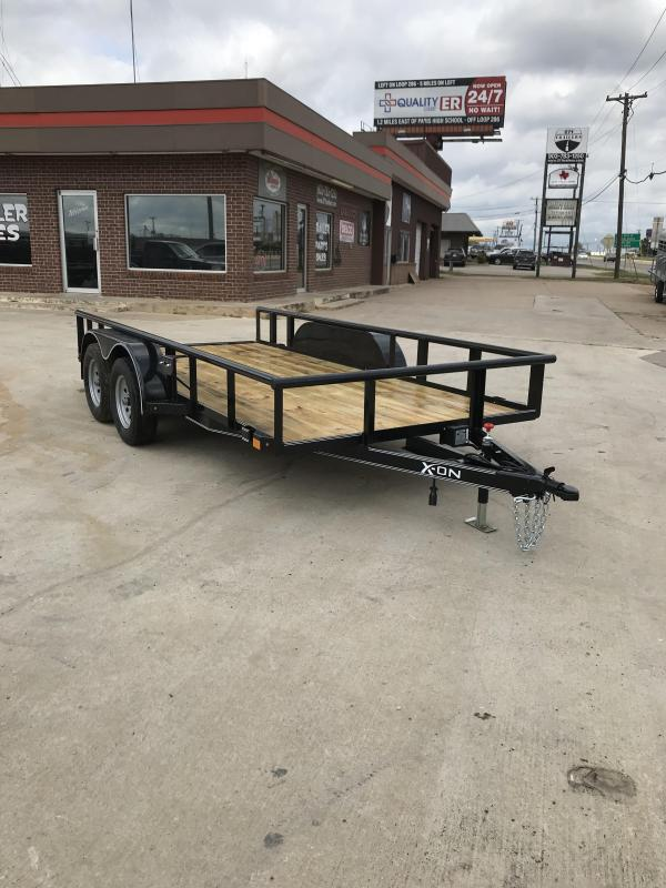2018 X-On A-UT771423 Utility Trailer