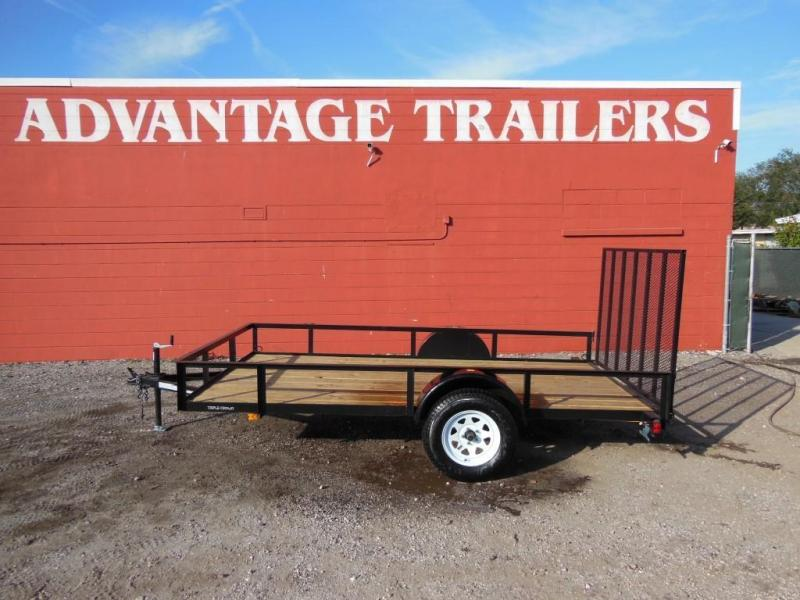 2018 Triple Crown  open 6X12 SA Utility Trailer