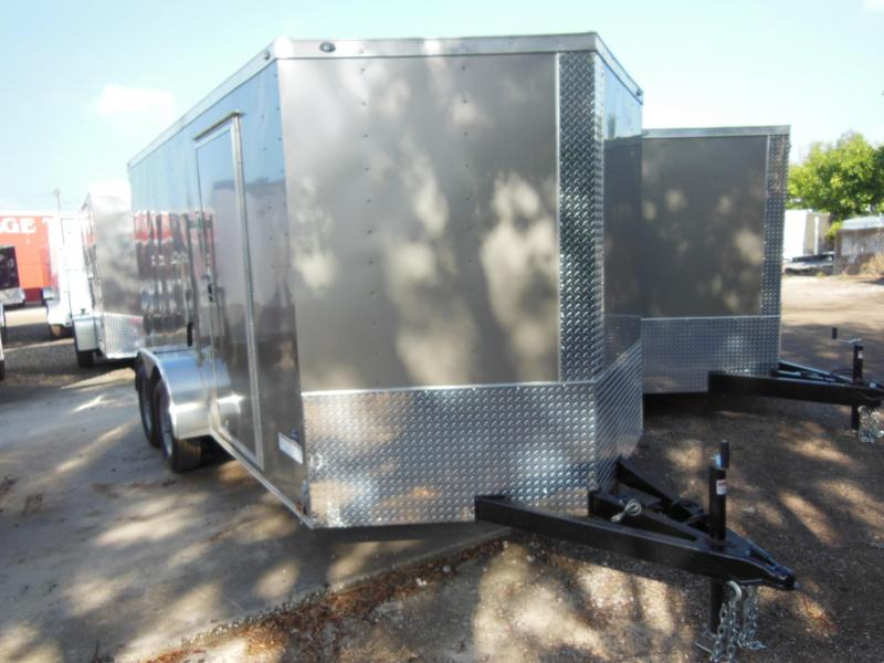 2018 Anvil 7 wide Enclosed Cargo Trailer starting @
