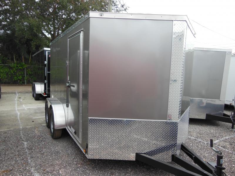 2019 Anvil 7 x 12 TA Enclosed Cargo Trailer