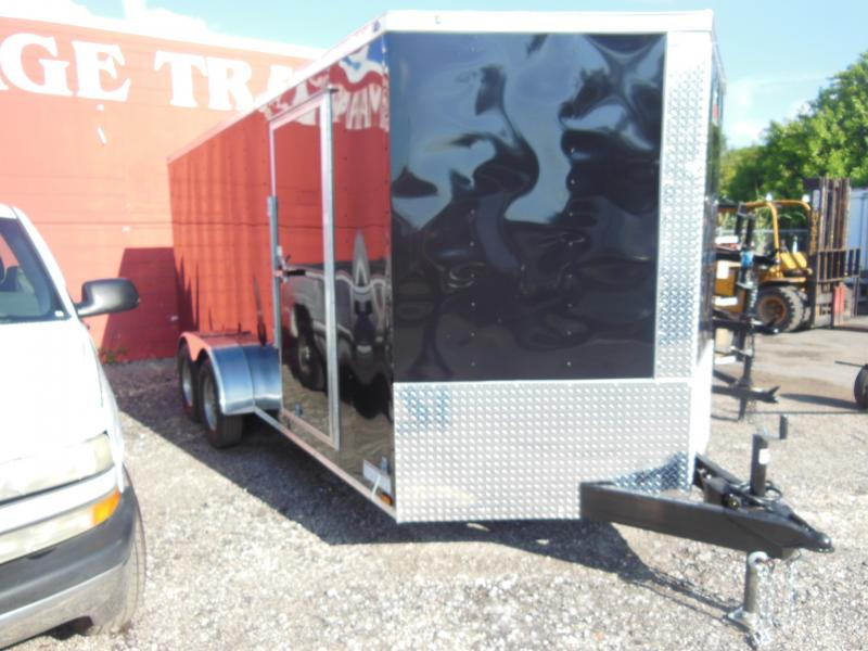2017 Anvil 7 x 16 Enclosed Cargo Trailer