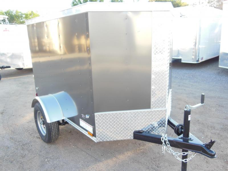 2017 Anvil 4 X 6 Enclosed Cargo Trailer