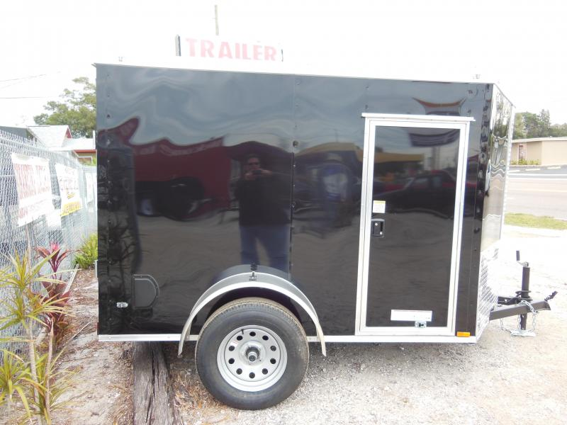 2019 Anvil 5 x 8 extra height Enclosed Cargo Trailer