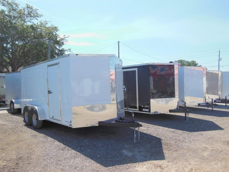 2018 Anvil 7 x 14 TA Landscapers Edition Enclosed Cargo Trailer