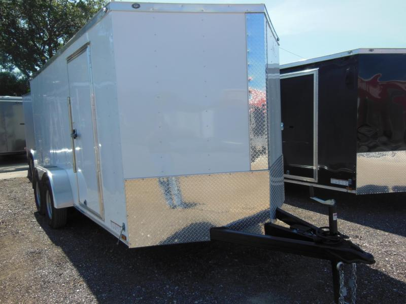 2017 Anvil 7 x 14 TA Enclosed Cargo Trailer