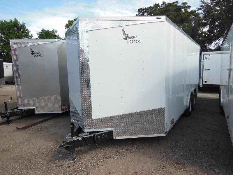 2018 Lark 8x18TA Enclosed Cargo Trailer