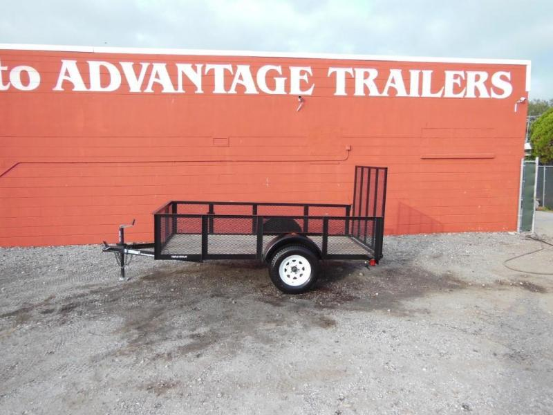 2017 Triple Crown  Open 5 x 10 Utility Trailer w/2