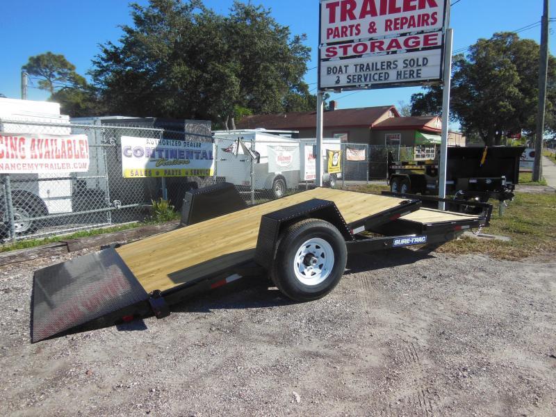 2017 Sure-Trac 78 IN x 12+4 Tilt Bed Equipment 7.8K