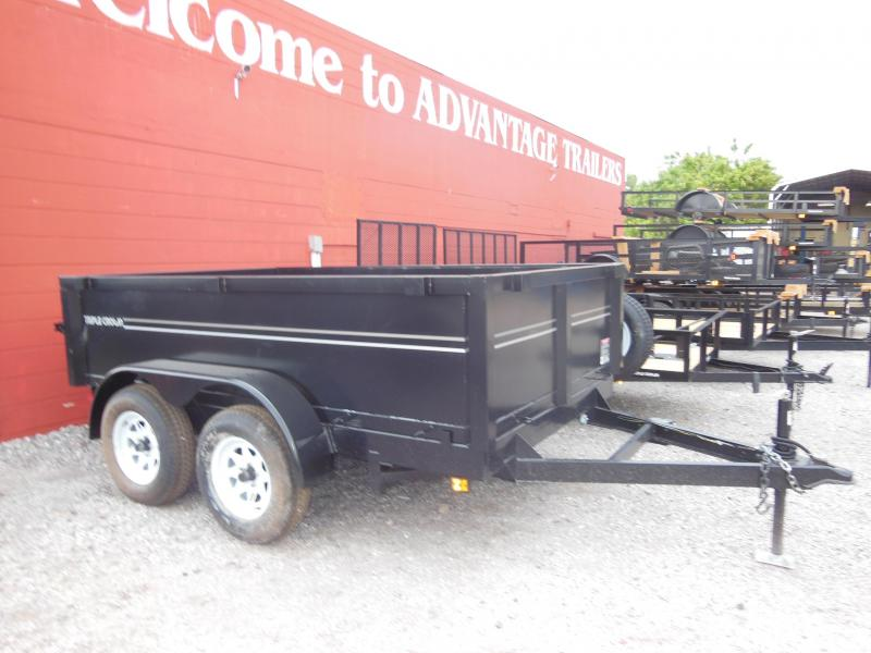 6 X 10 TRIPLE CROWN Lowrider Style Dump Trailer