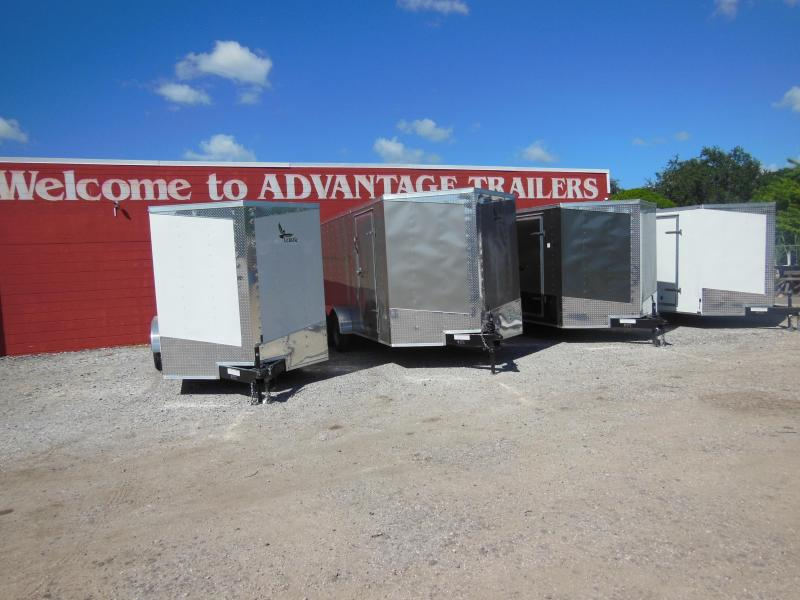 2017 Lark 7 X 16 Enclosed Cargo Trailer
