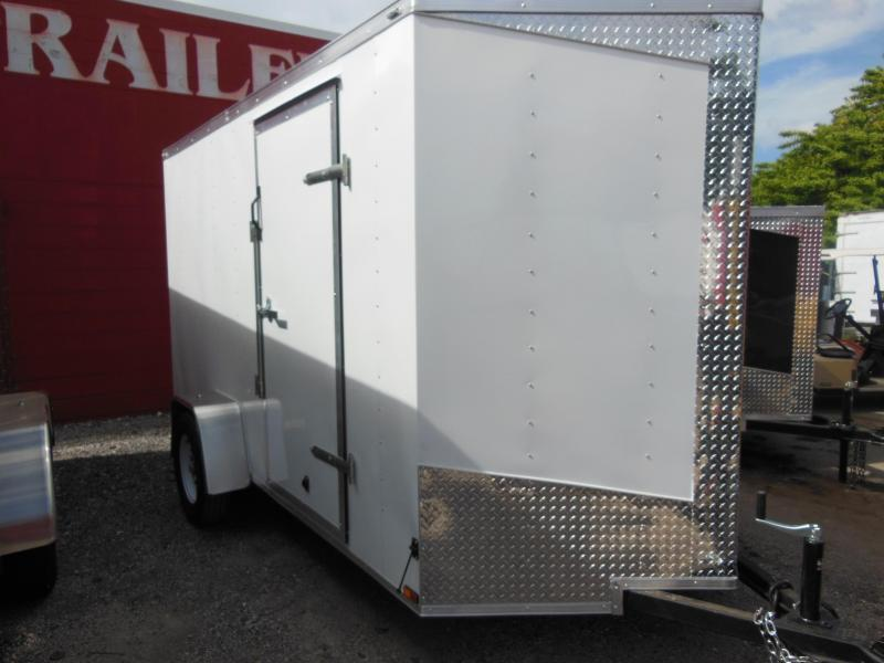 2017 Lark 6 x 12 Enclosed Cargo Trailer