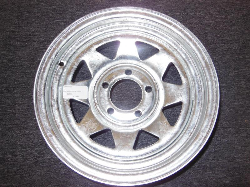 RIM ONLY  14 X 5   5 LUG   GALVANIZED