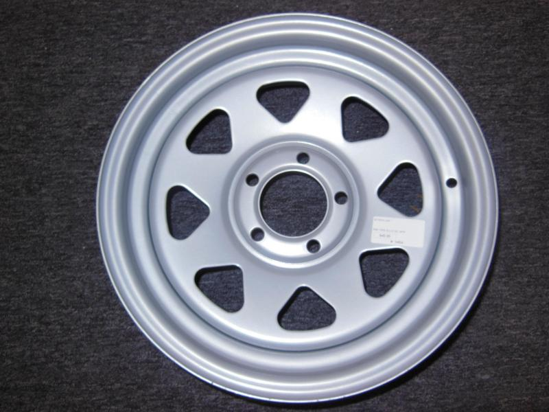 RIM ONLY 15 X 5  5 LUG  SILVER SPOKE
