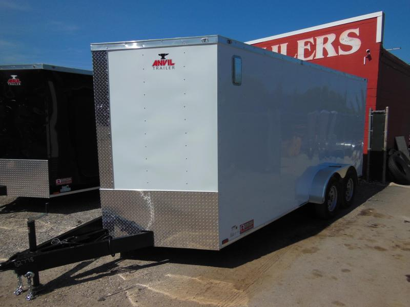 2018 Anvil 7 x 16 TA Enclosed Cargo Trailer