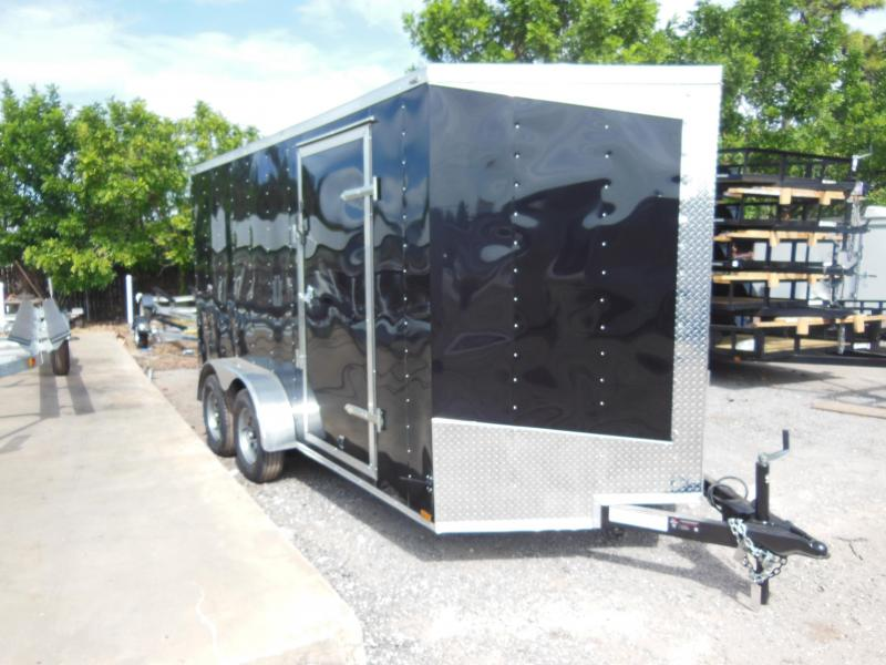 2017 Lark 7 WIDE Enclosed Cargo Trailer