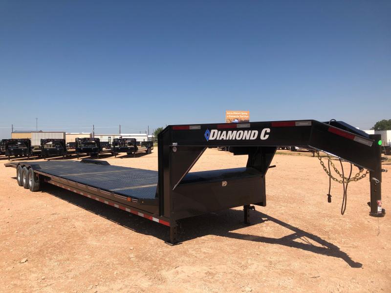 2019 Diamond C Trailers 102x 40 Gooseneck Steel Deck Carhauler