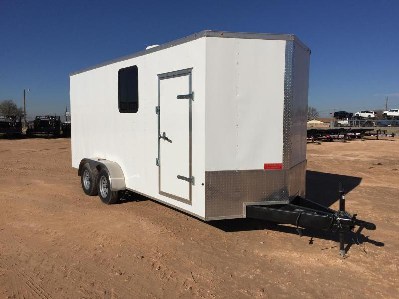 2019 Salvation Trailers 7 X 16 TA Office Trailer