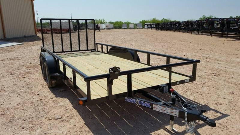 "2018 Load Trail 83""x 16' 7000 Gvw Pipe Top w/HD Fold In Gate"