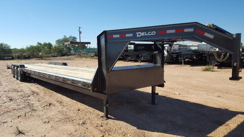 "2019 Delco 102"" X 40' Triple Gooseneck Carhauler Car / Racing Trailer"