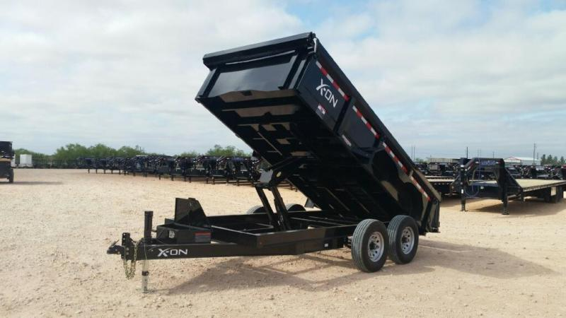 2018 X-On X-ON 83 x 12 DUMP TRAILER Dump Trailer
