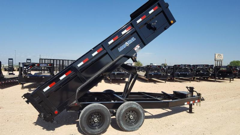 2019 Load Trail 14' Scissor Lift Dump Trailer