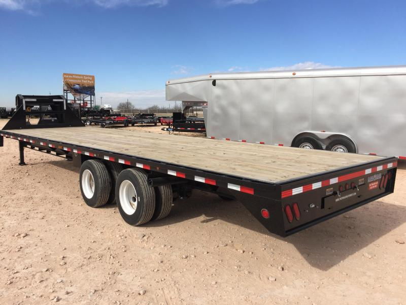 "2019 Load Trail 102""x30' 30000 GVW Gooseneck w/ Ratchet Rail"
