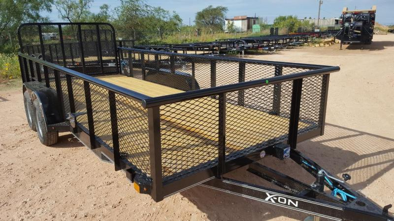 2019 X-ON 18' Utility Trailer TANDEM AXLE