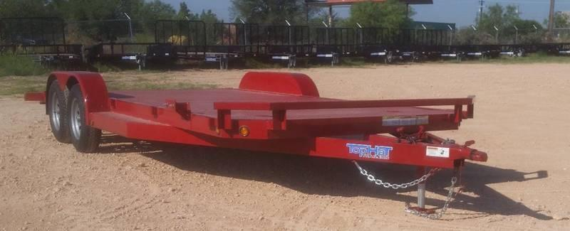 "2018 TOP HAT 83"" x 20' All Steel Car Hauler 2-3500# Axles"