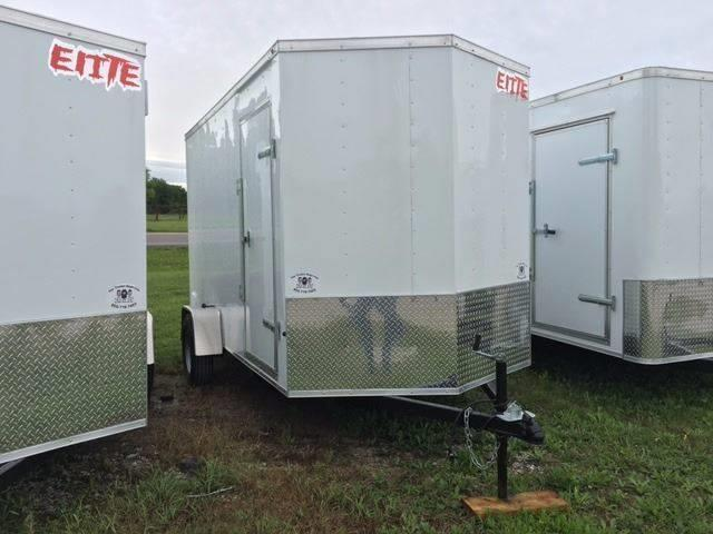 2019 Salvation Trailer 6 X 10 SA Enclosed Rear Ramp