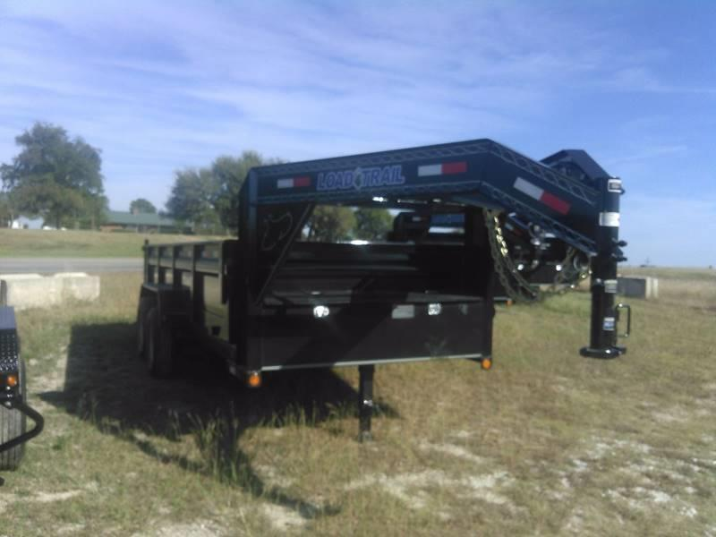 "2019 Load Trail Gooseneck Dump w/scissor lift 83"" x 14' 2 - 7000 Lb Dexter Axles"